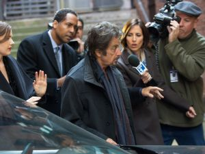 Al Pacino growls and spits his way through a film that would have been better titled as The Mumbling.