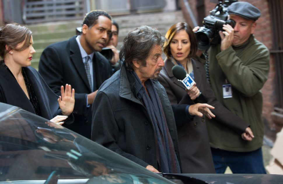 Al Pacino Stars in a Disastrous Waste of Time Called 'The Humbling'