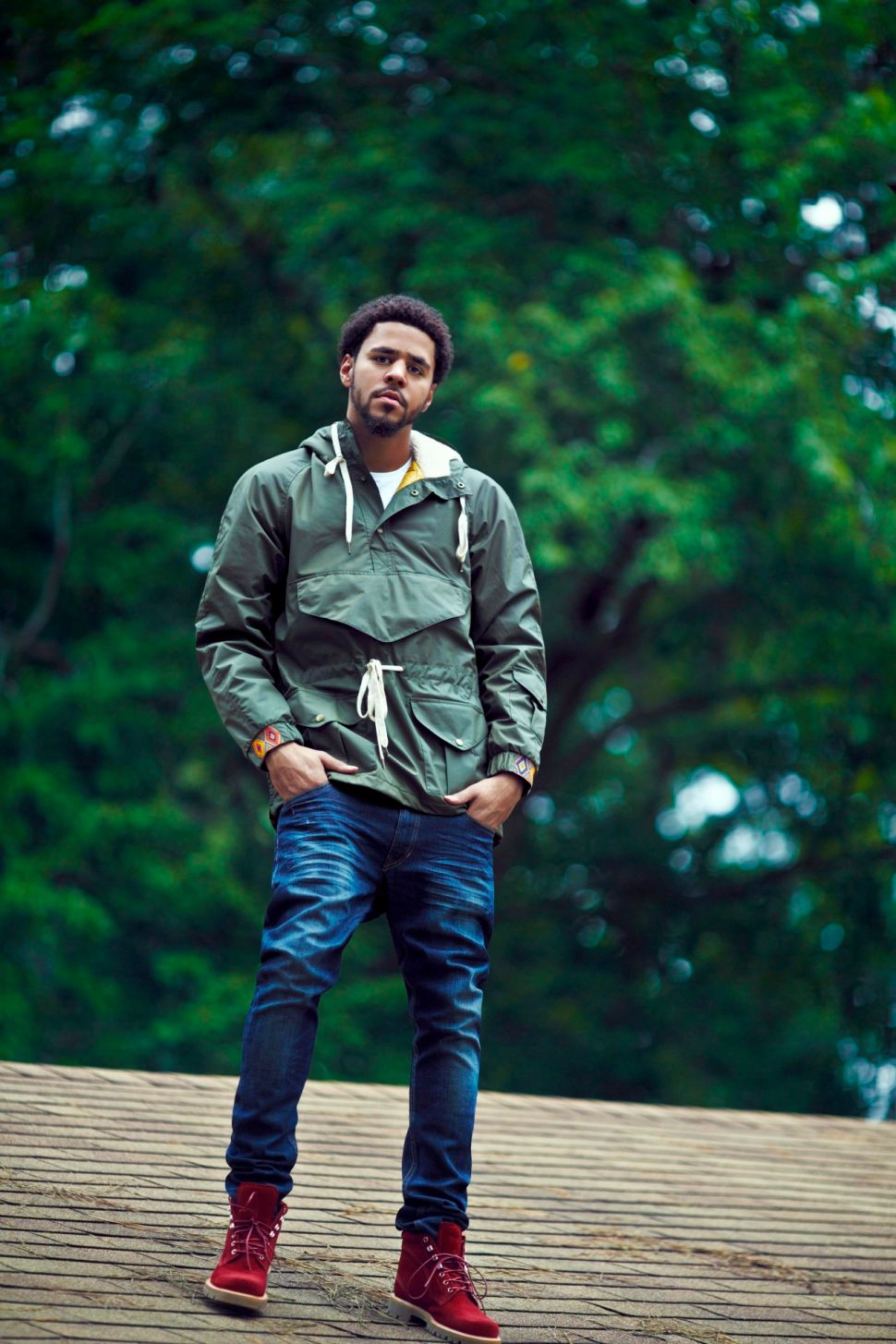 J. Cole Reaches for New Heights on '2014 Forest Hills Drive'