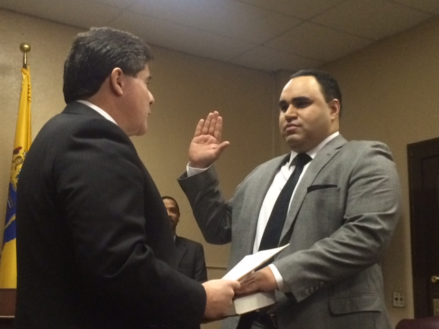 Rodriguez sworn in as West New York commissioner as mayoral fight simmers