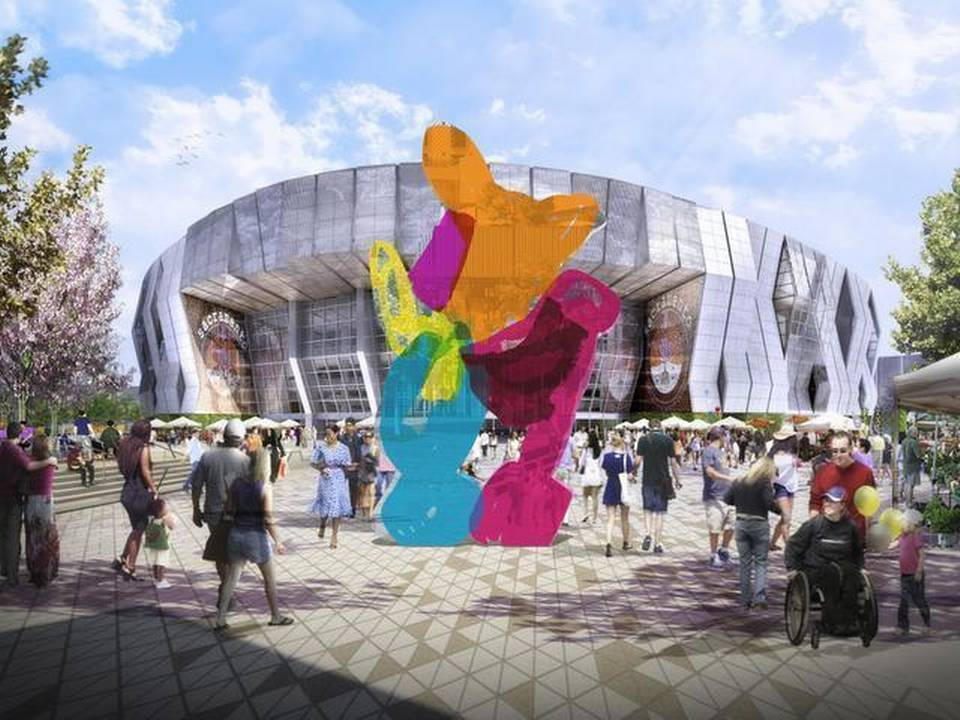 Art World Abstracts: West Coast NBA Stadium to Get a Jeff Koons Sculpture, and More!