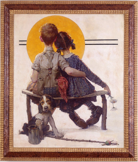 Art World Abstracts: An Adorable Rockwell Donation for Valentine's Day, and More!