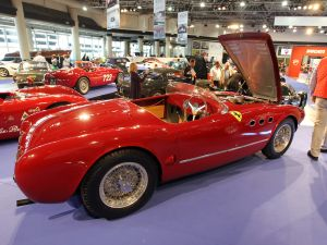 A 1952 Ferrari 225 Sport Spyder Tuboscocca at a 2012 RM Auctions sale in Monaco (Photo: Valery Hache/AFP/Getty Images).