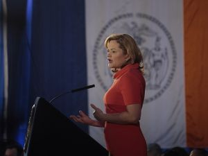Council Speaker Melissa Mark-Viverito at her State of the City address last year. (Photo: William Alatriste/NYC Council)