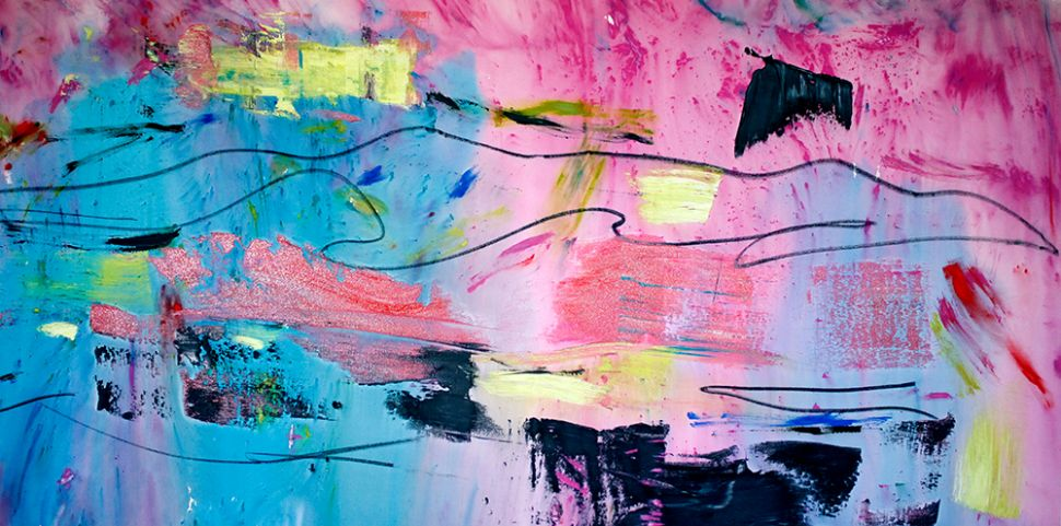 Reinvention: Francine Tint's Abstractions Evolve at Walter Wickiser Gallery