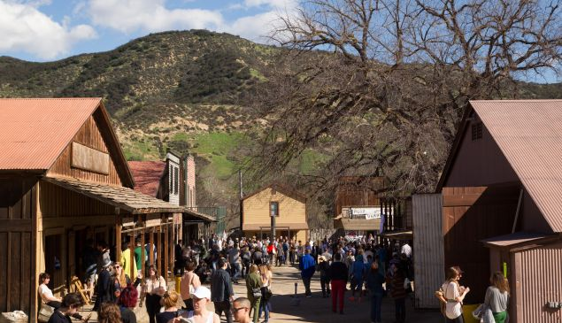 The ghost town movie set that hosted Paramount Ranch. (Courtesy Paramount Ranch 2)