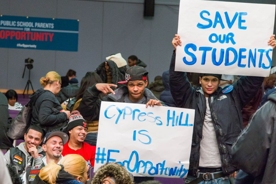 Parents Rally In Support of Gov. Cuomo's Education Reforms