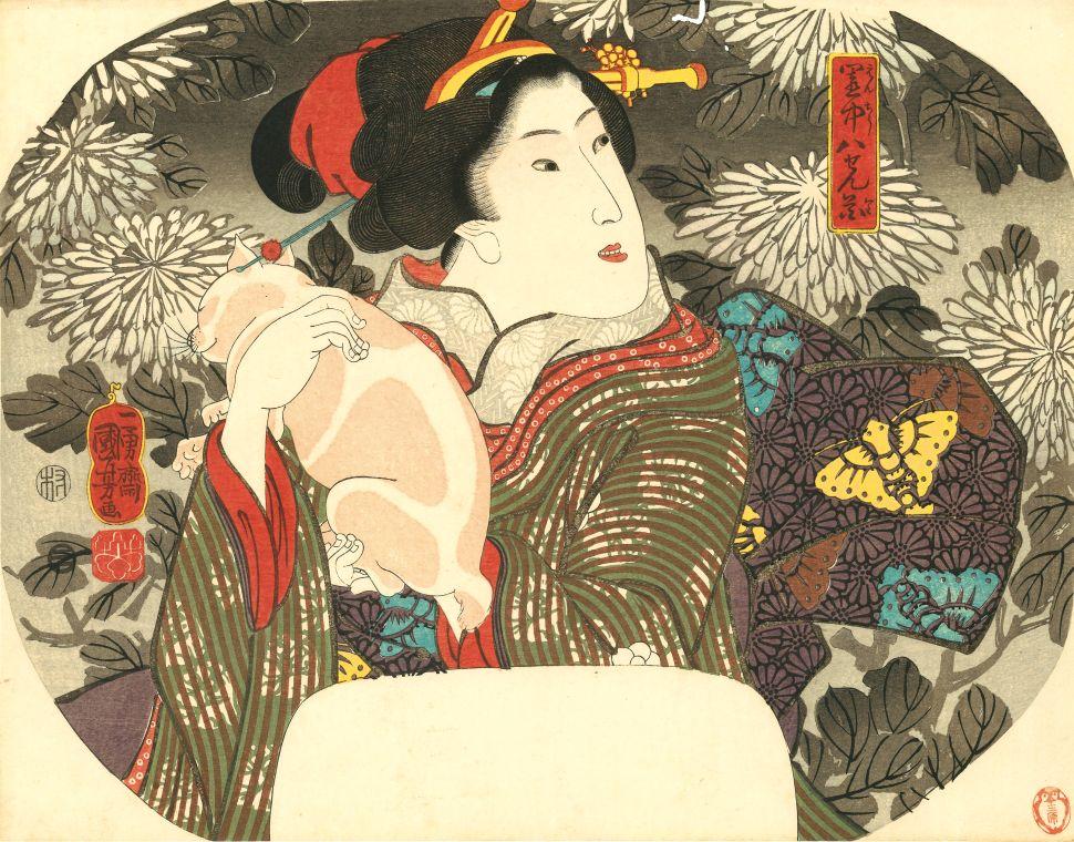 Feline Frenzy: Japan Society Show Spotlights the Cats of Ukiyo-e Woodblock Prints