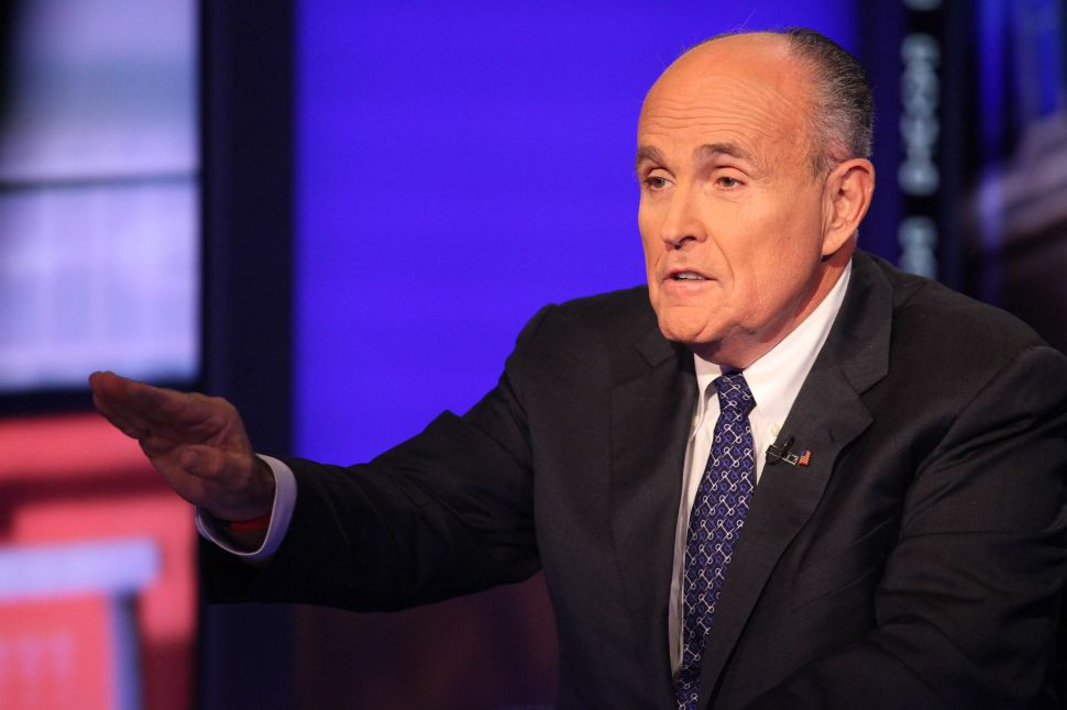 Rudy Giuliani Says Republican Presidential Candidates Can't Give Up on the Coasts