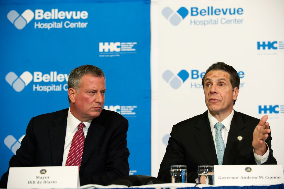 Cuomo Says His Relationship With de Blasio Will Be Best in Modern History