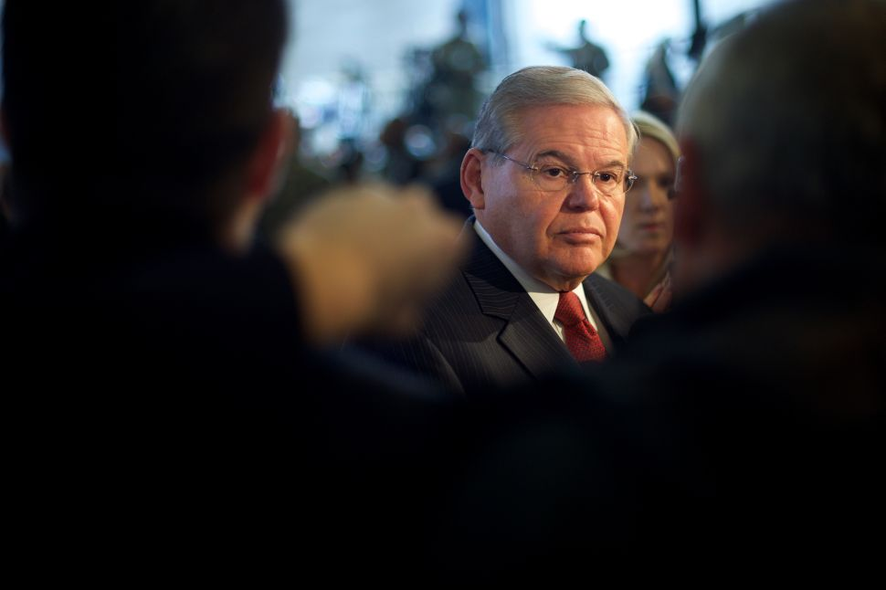 Menendez Courageously Leads on Iran
