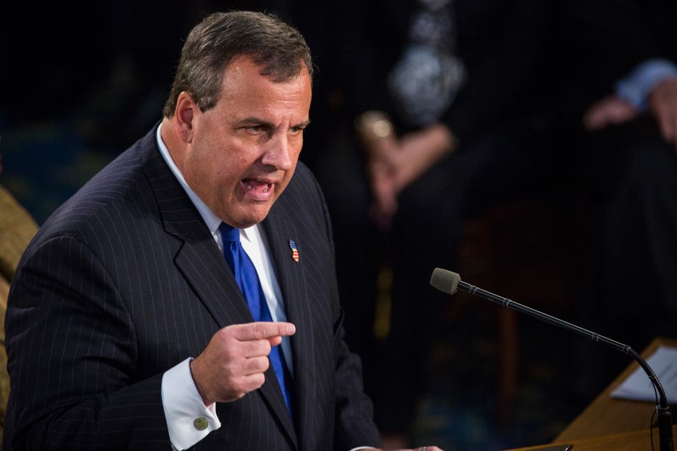 The Wheels on Chris Christie's Campaign Bus Are Coming Off Before It Even Rolls