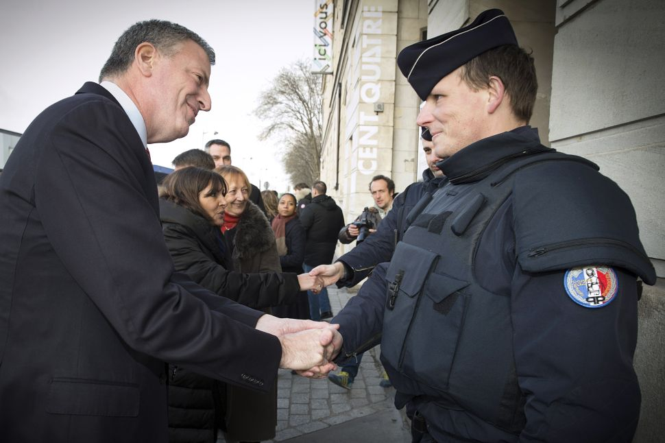 Bill de Blasio Slated to Meet With Chief Rabbi of France at Jews-Only Event