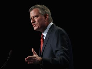 Mayor Bill de Blasio. (Photo: Alex Wong/Getty Images)