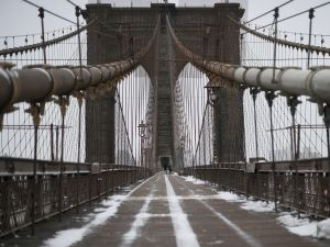 The Brooklyn Bridge would be hit with a toll under a new congestion pricing plan. (Photo: JEWEL SAMAD/AFP/Getty Images)