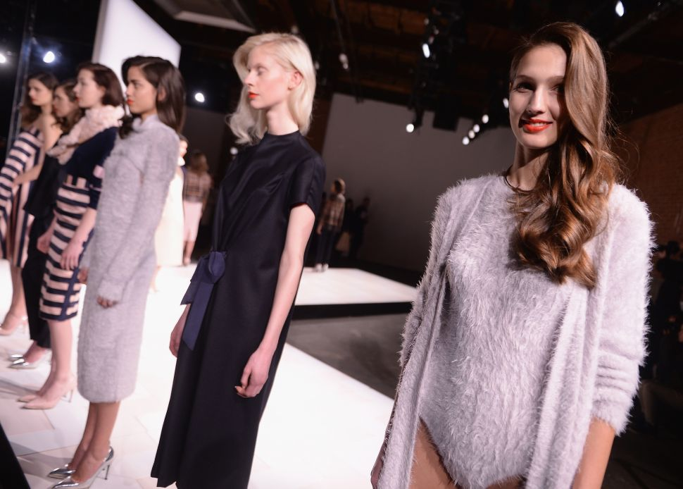 This Furry Leotard Has Everyone Talking at New York Fashion Week