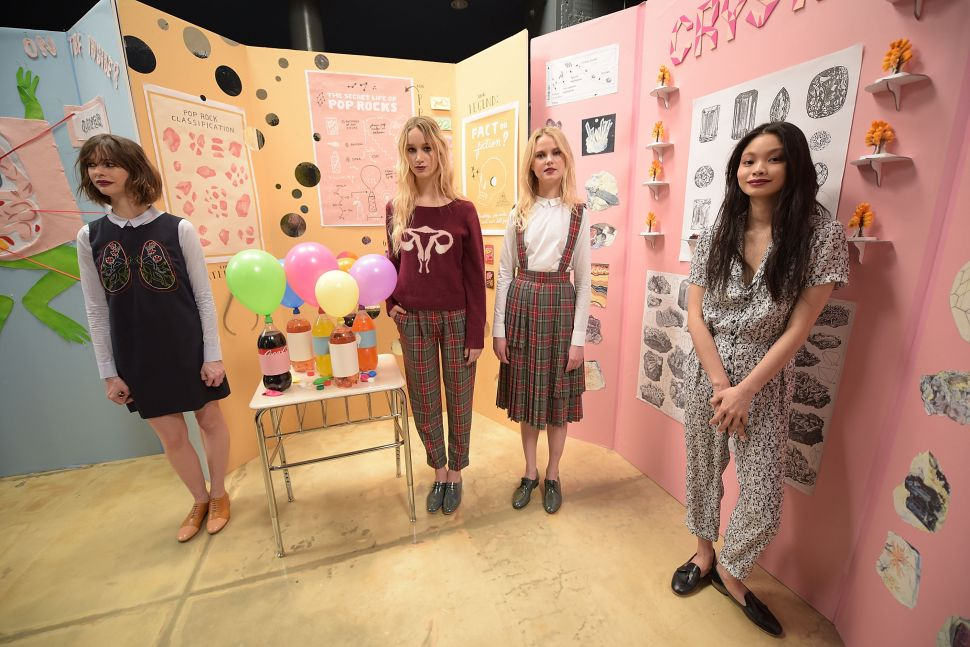 Fashion Week Explained: Rachel Antonoff's Threesome-Inspired Uterus Sweater