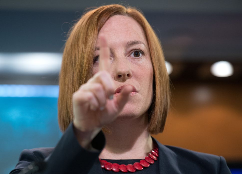 State Department's Jen Psaki Is Pregnant, Leaving Russians Both Sad and Elated