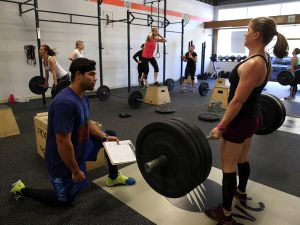 Singles who do CrossFit have more frequent sex than singles who do any other form of exercise, a Match.com study found. (Photo: Getty Images)
