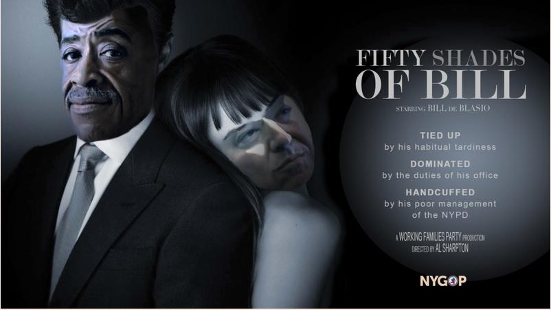 Bill de Blasio Has Not Seen 'Fifty Shades of Grey'