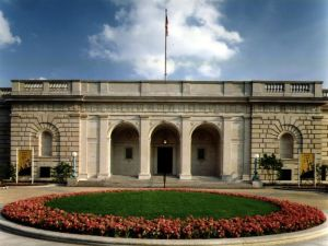 The Freer Gallery of Art. (Courtesy the Smithsonian)