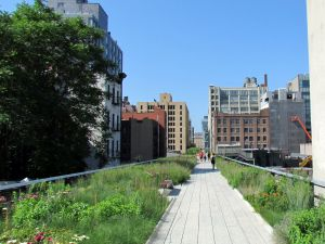 "The High Line is launching its newest art exhibit ""Panorama."" (David Berkowitz/ Flickr Creative Commons)"