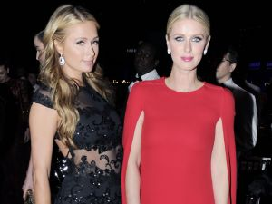Paris and Nicki Hilton at amfAR Gala. (Photo: Patrick McMullan)