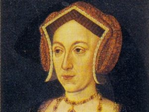 The Nidd Hall portrait, currently held at the Bradford Art Galleries and Museums, is now believed to be of Anne Boleyn