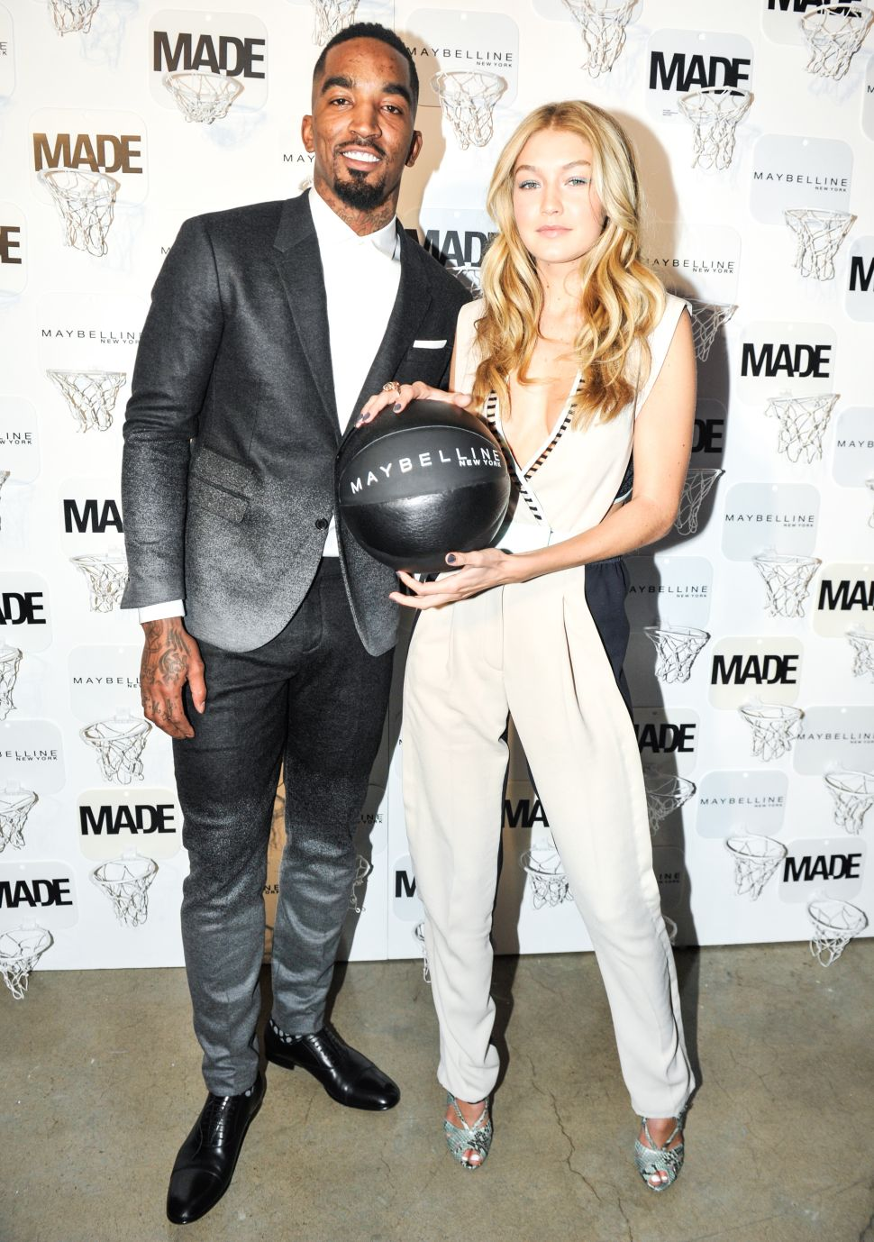 Just Ask Gigi Hadid, JR Smith and Melo: Basketball and Fashion Are a Perfect Match