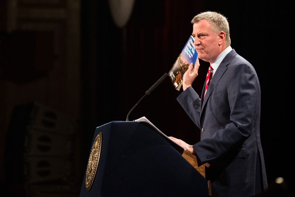 Bill de Blasio Pitches His Affordable Housing Plan in State of the City Address