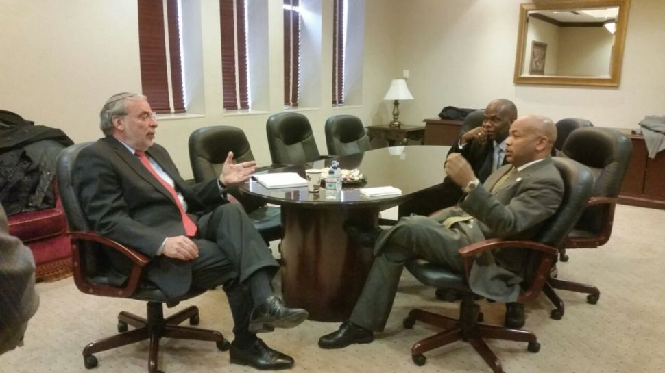 Heastie and Hikind Talk Tax Credits and Fertility Drugs in Brooklyn