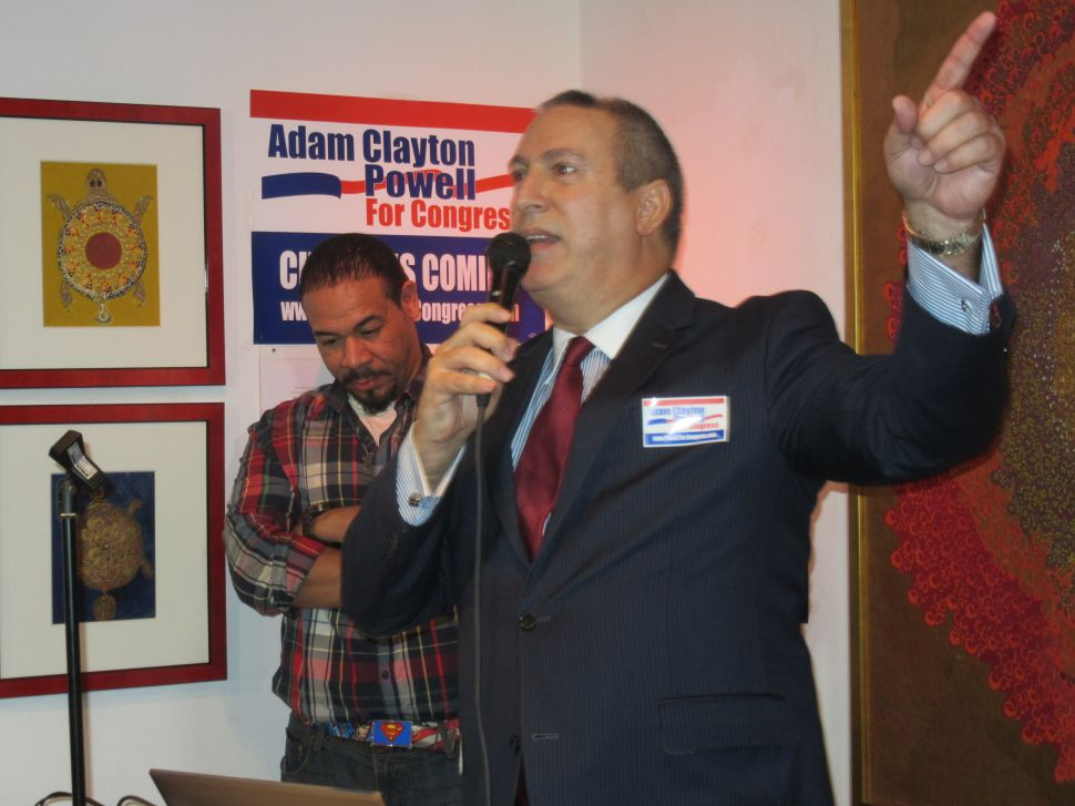 Clayton Powell Claims Espaillat Too Old to Run for Congress Again