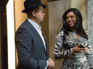 Cookie and Lucious on Empire, where that is in fact their real names. (Fox)