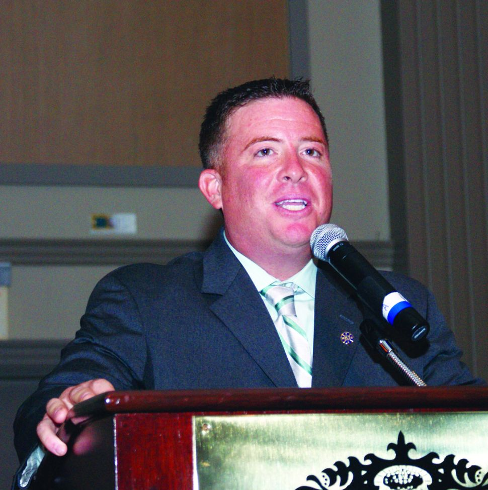 Firefighter Rep Donnelly goes after NJEA leadership after Christie budget speech