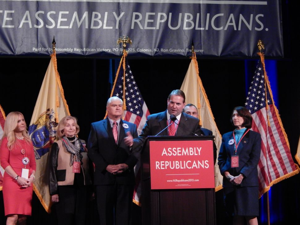 Monmouth freeholder Curley at A.C. GOP-fest: 'I've heard more action at an Irish wake'