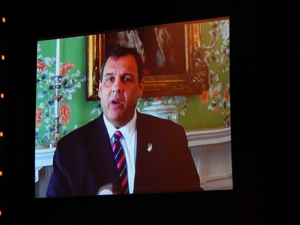 Christie says he's 'committed' to Republicans during A.C. broadcast