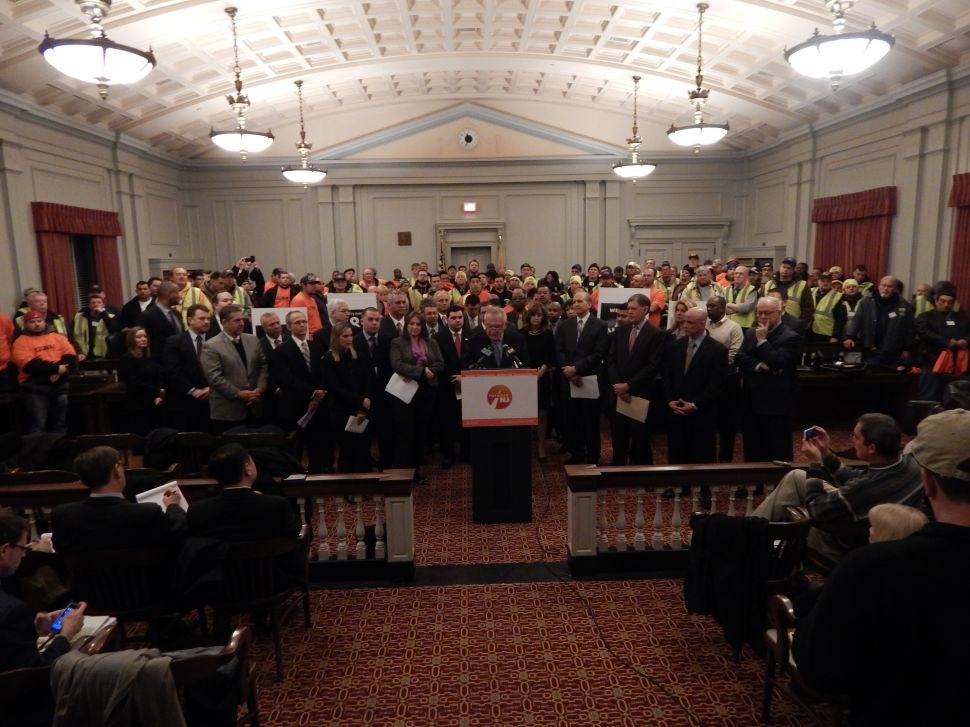 Forward NJ coalition calls on Christie, legislature to put 'politicking' aside and fund TTF