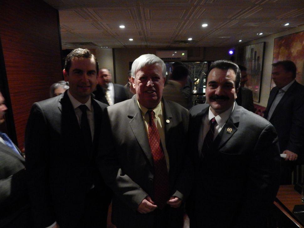 'Unity' the operative word at DeGise's Hudson County Democratic bash