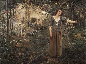 Joan of Arc by Jules Bastien-Lepage, (1879), is part of the Metropolitan Museum's collections. (Photo: The Met)