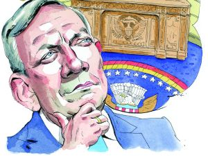 George Pataki would make a more formidable Republican candidate than many seem to appreciate. (Illustration by )