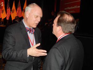 Atlantic City Mayor Don Guardian (left).