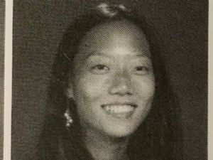 Hae Min Lee's yearbook photo, 1999.