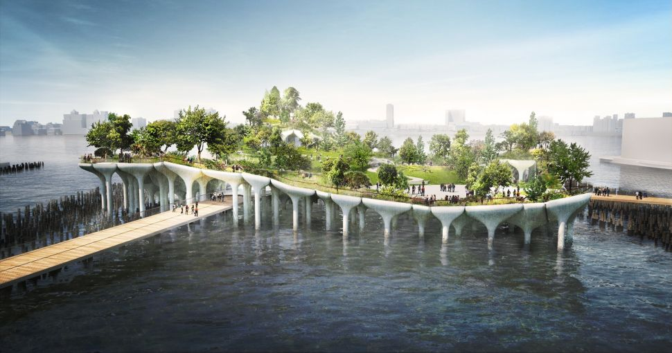 On the Market: Barry Diller's Floating Park Moves Forward; Bed-Stuy's 'Condo Canyon'