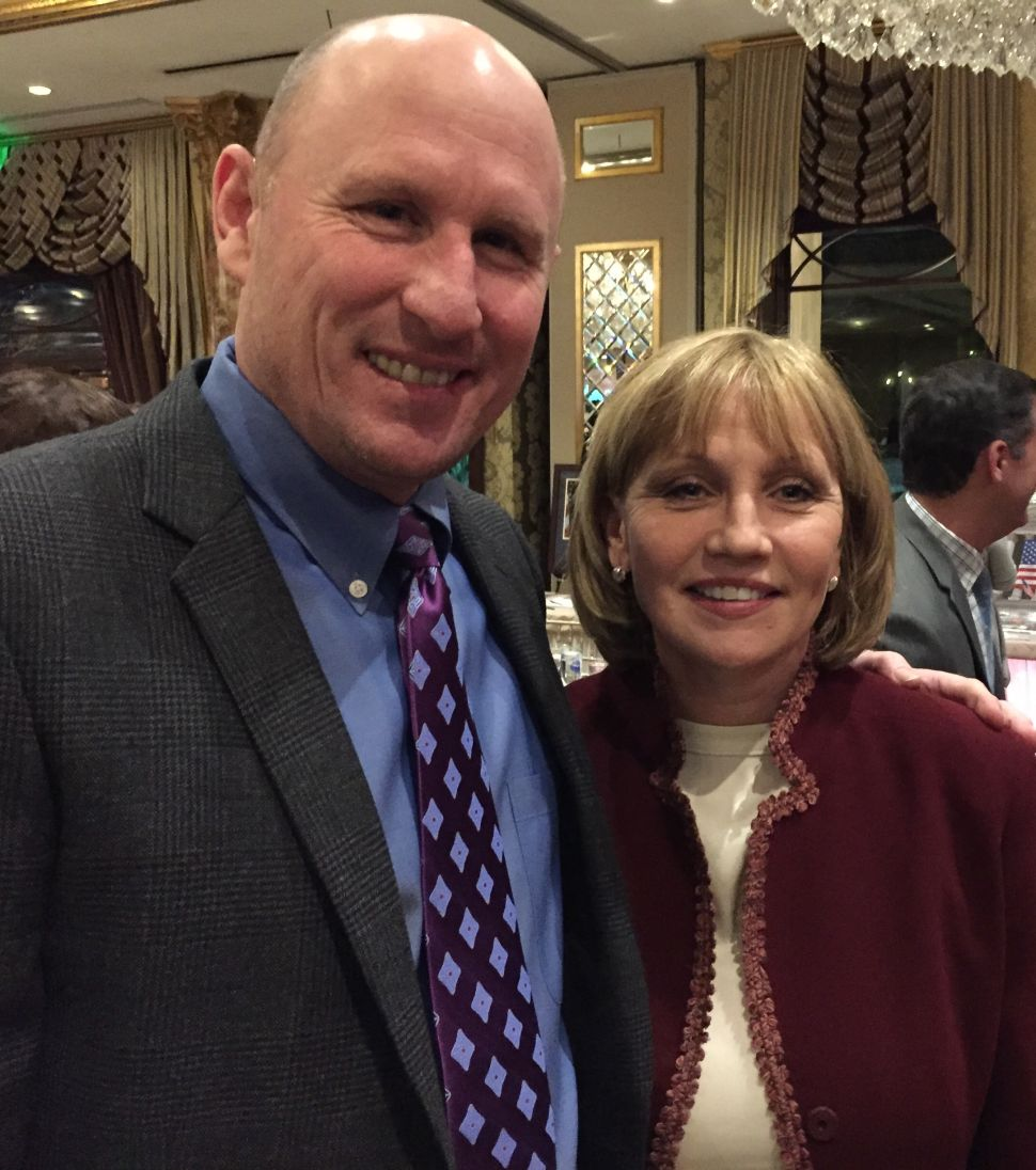 Guadagno tells Bergen GOP she's ready to engage in LD38