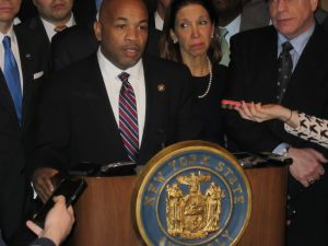 Assembly Speaker Carl Heastie.