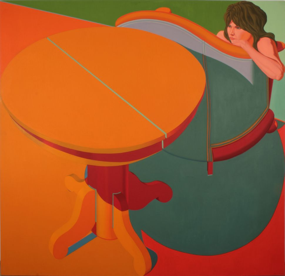 Art Scout: NY Realist Jack Beal's Experiments in Hard Edge Go On View in Chelsea