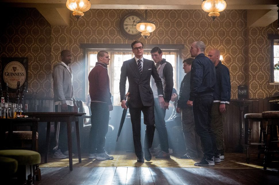 'Kingsman: The Secret Service,' a Sad Pilfering of Colin Firth's Classic Talents