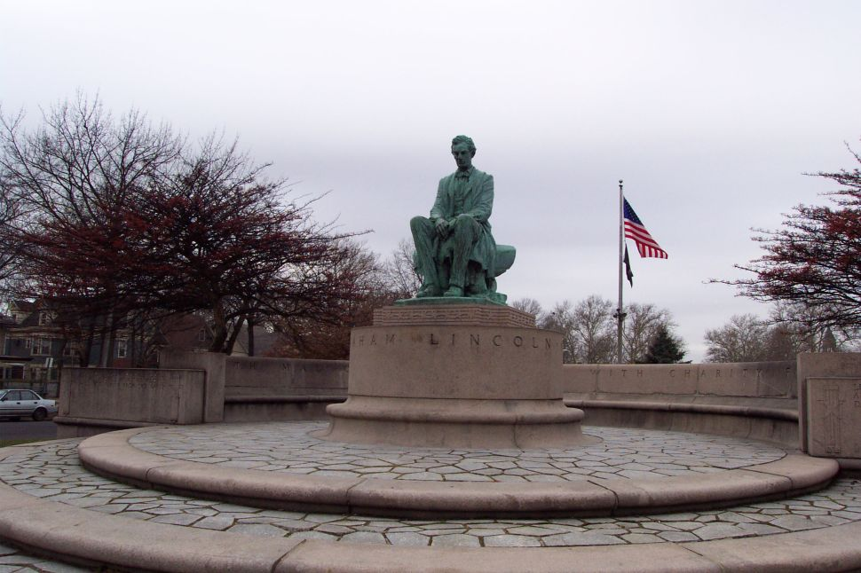 Abe Lincoln and the 'unsophisticated heathens' of New Jersey