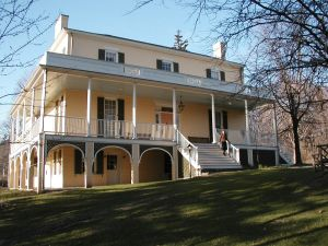 "The Thomas Cole National Historic Site, one of two locations where ""River Crossings: Contemporary Art Comes Home"" will take place this summer. (Photo courtesy Thomas Cole National Historic Site)"