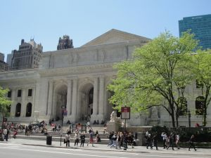 The NYPL will finally replenish its fountain again.
